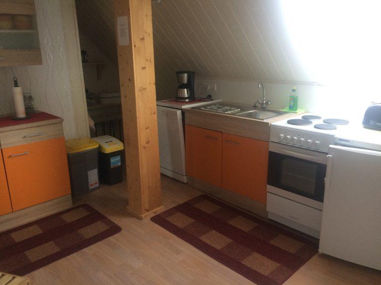 Küche Ferienwohnung Lahl Havelberg